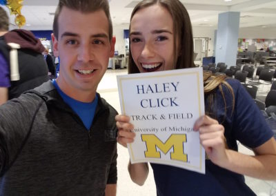 Andrew with Haley Click