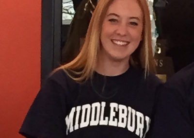 Isabel Sessions, Middlebury College