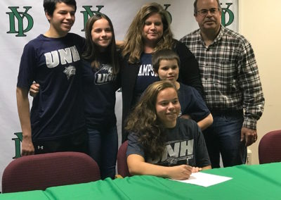 Issy Torres, University of New Hampshire