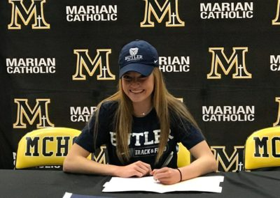 Kelly Mindak, Butler University