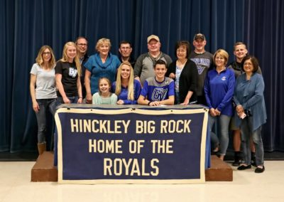 Tanner Chada, Grand Valley State University