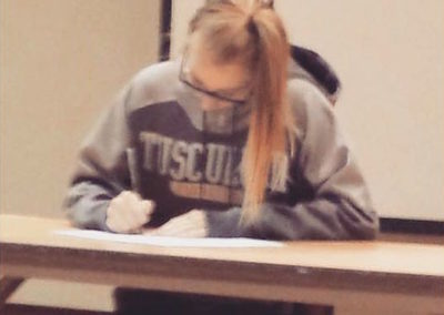 Emily Stoklosa, Tusculum College