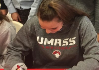 Emma Jones, University of Massachusetts