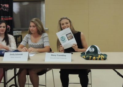 Macy Tramblay, Colorado State University