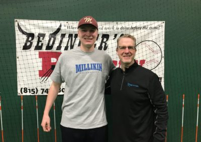 Collin Kingsbury, Millikin University