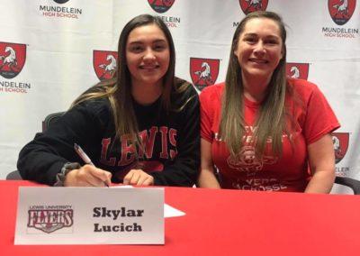 Skylar Lucich, Lewis University